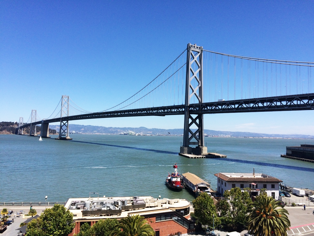 We had a field trip to learn about Firebase at the Google office last week. The presentation was great, but then... this view, this view. Mmph.